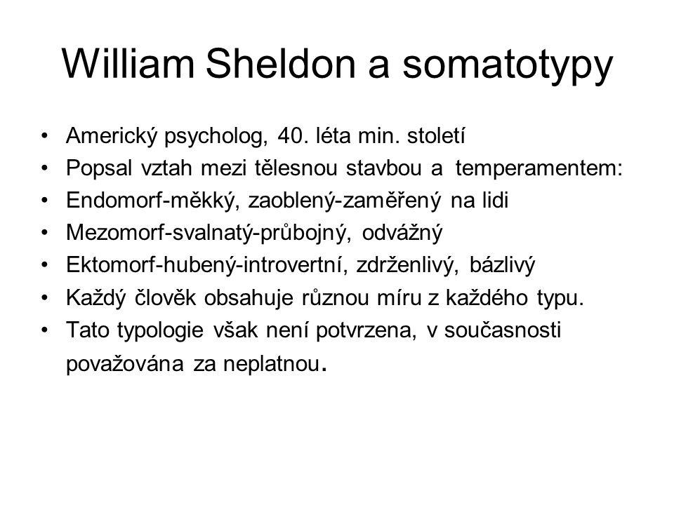 William Sheldon a somatotypy