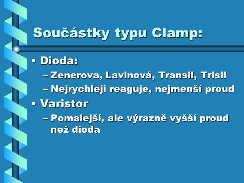 Součástky typu Clamp: Dioda: Varistor
