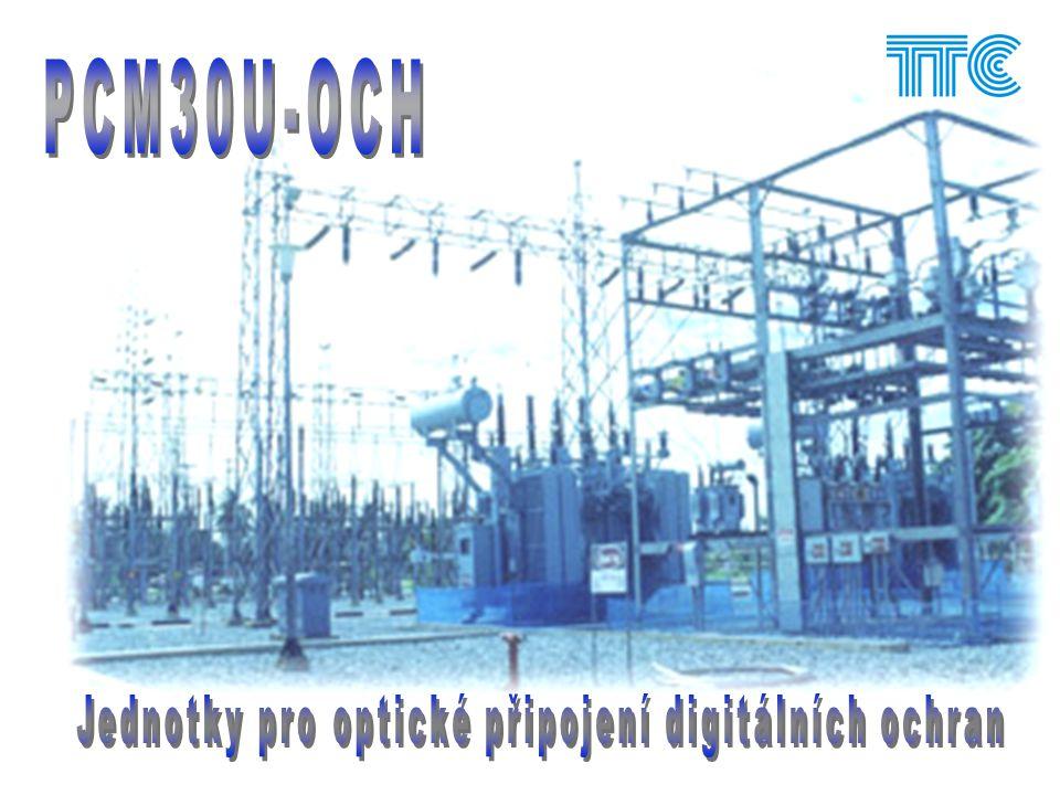 Jednotky pro optické připojení digitálních ochran