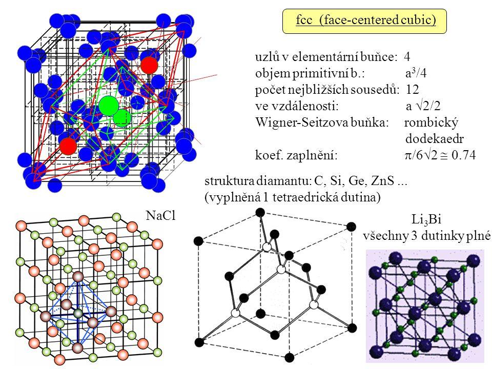 fcc (face-centered cubic)