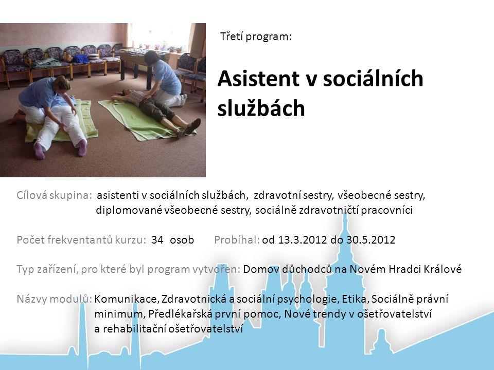 Asistent v sociálních službách