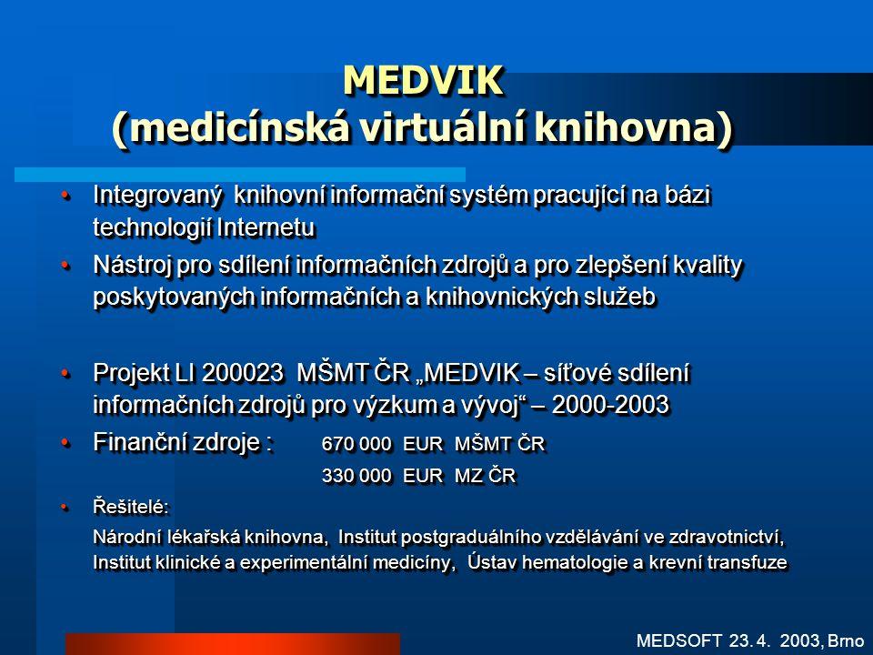 MEDVIK (medicínská virtuální knihovna)