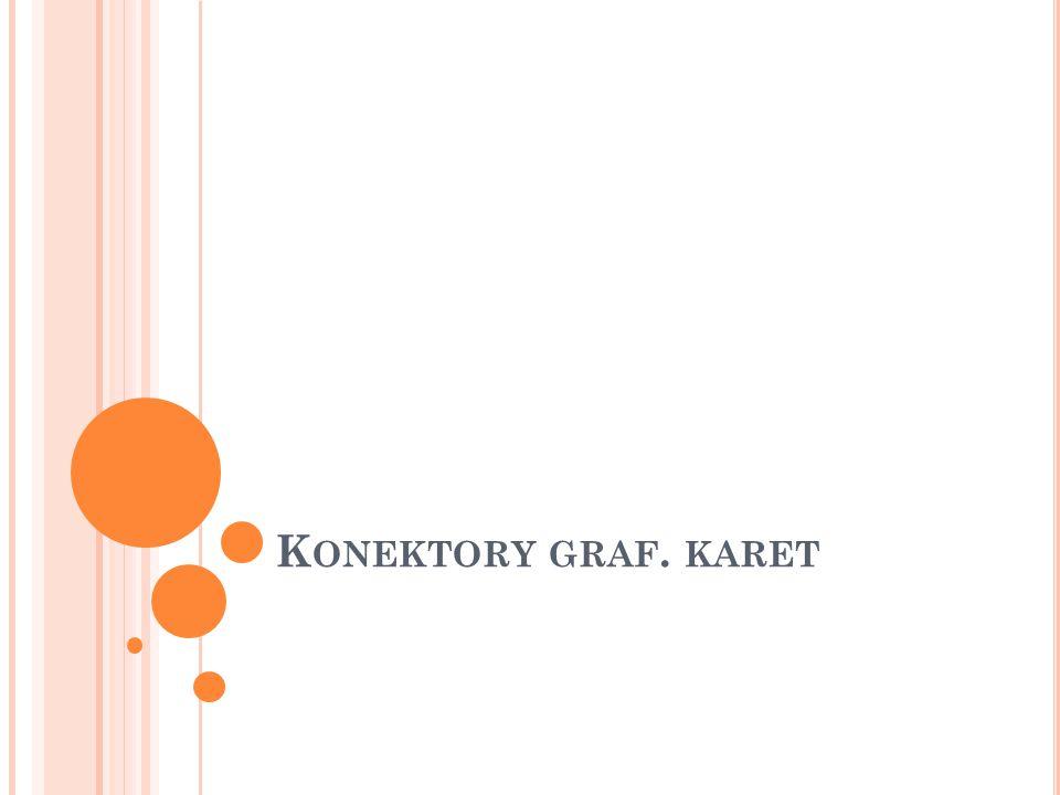 Konektory graf. karet