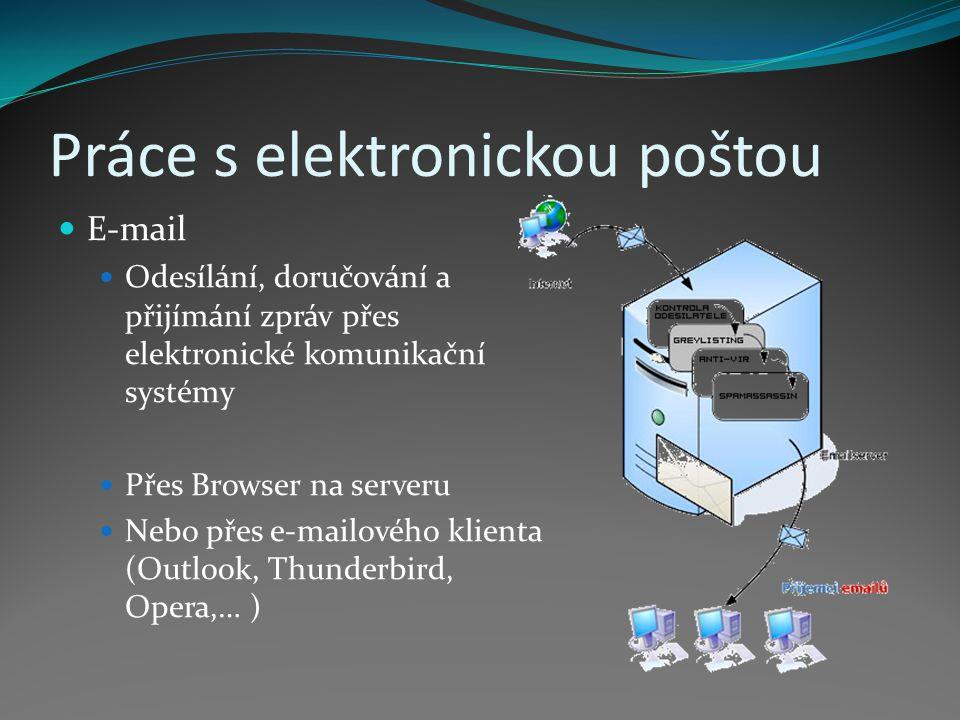 Práce s elektronickou poštou