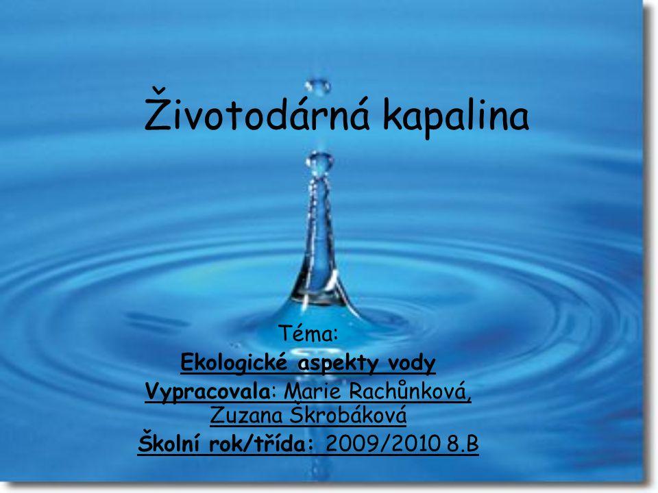 Ekologické aspekty vody