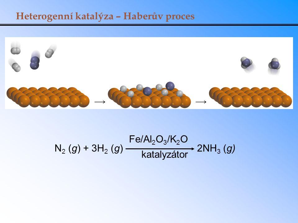 Heterogenní katalýza – Haberův proces
