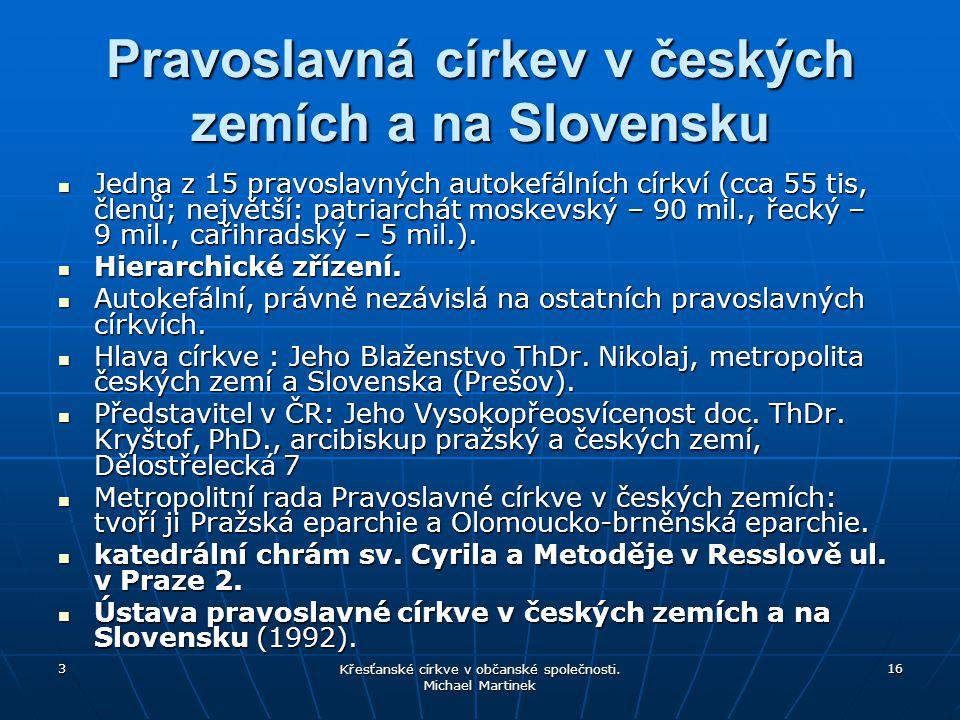 Pravoslavná církev v českých zemích a na Slovensku