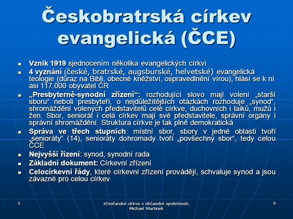Českobratrská církev evangelická (ČCE)