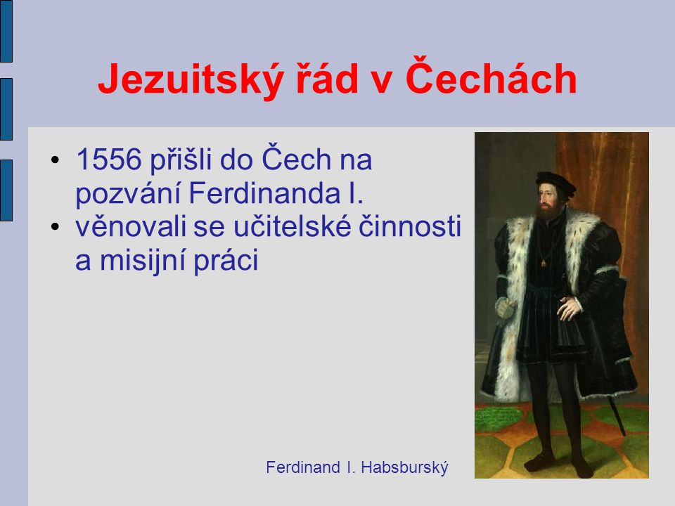 Jezuitský řád v Čechách
