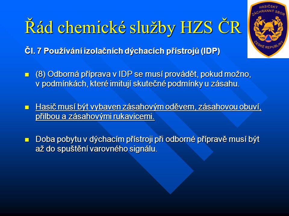Řád chemické služby HZS ČR