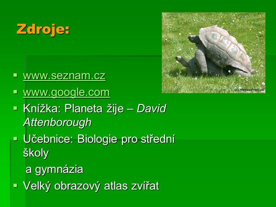 Zdroje: www.seznam.cz www.google.com