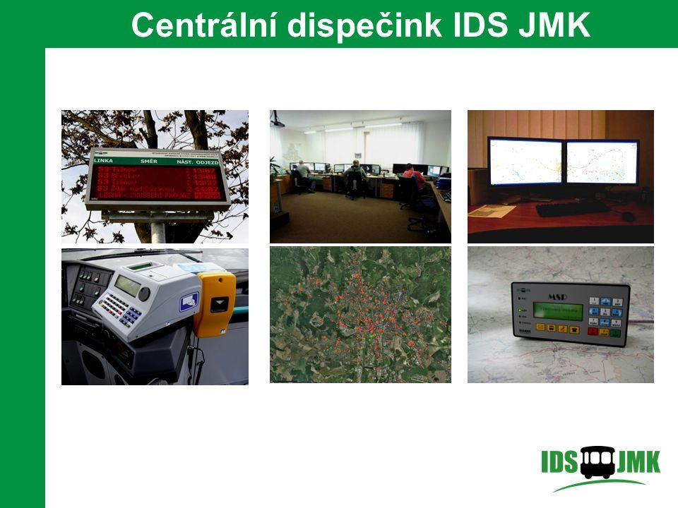 Centrální dispečink IDS JMK