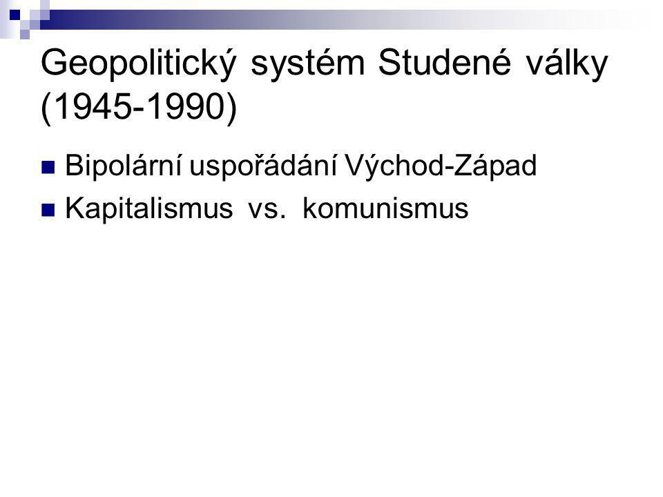 Geopolitický systém Studené války (1945-1990)