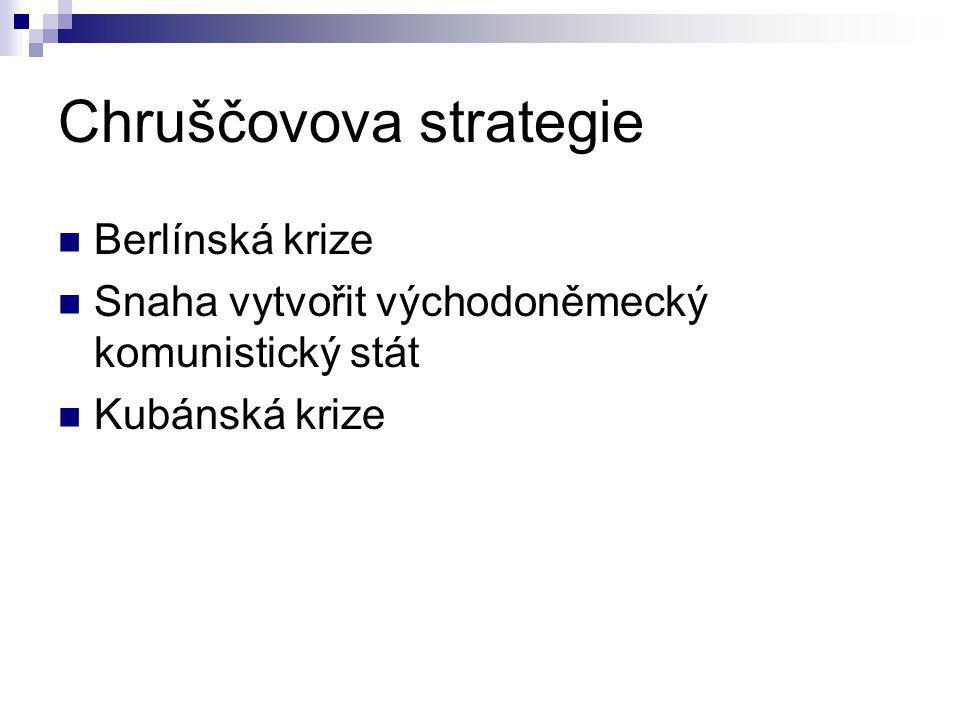 Chruščovova strategie