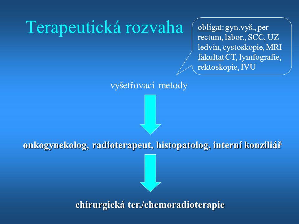 Terapeutická rozvaha vyšetřovací metody