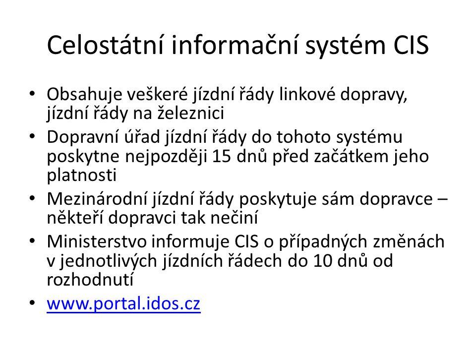 Celostátní informační systém CIS