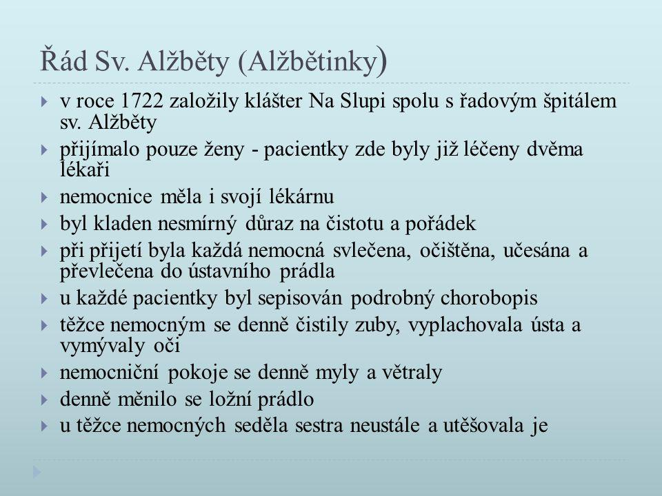 Řád Sv. Alžběty (Alžbětinky)