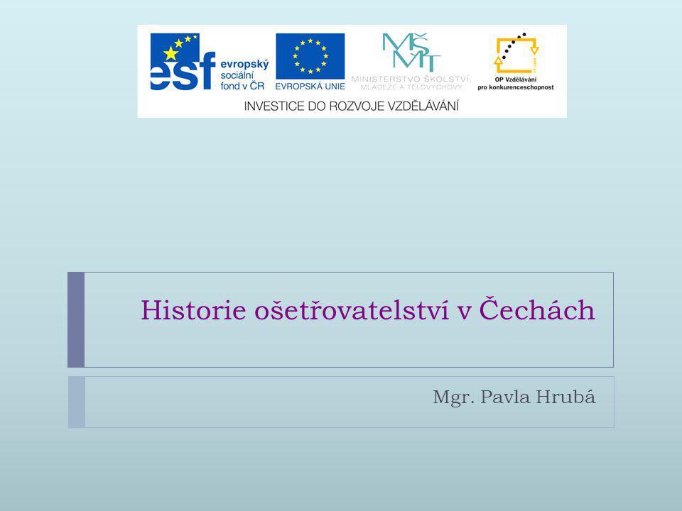 Historie ošetřovatelství v Čechách
