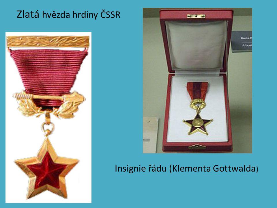 Zlatá hvězda hrdiny ČSSR