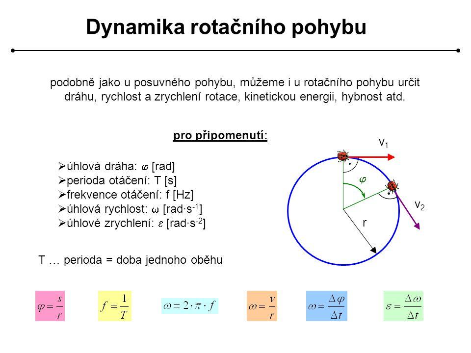 Dynamika rotačního pohybu