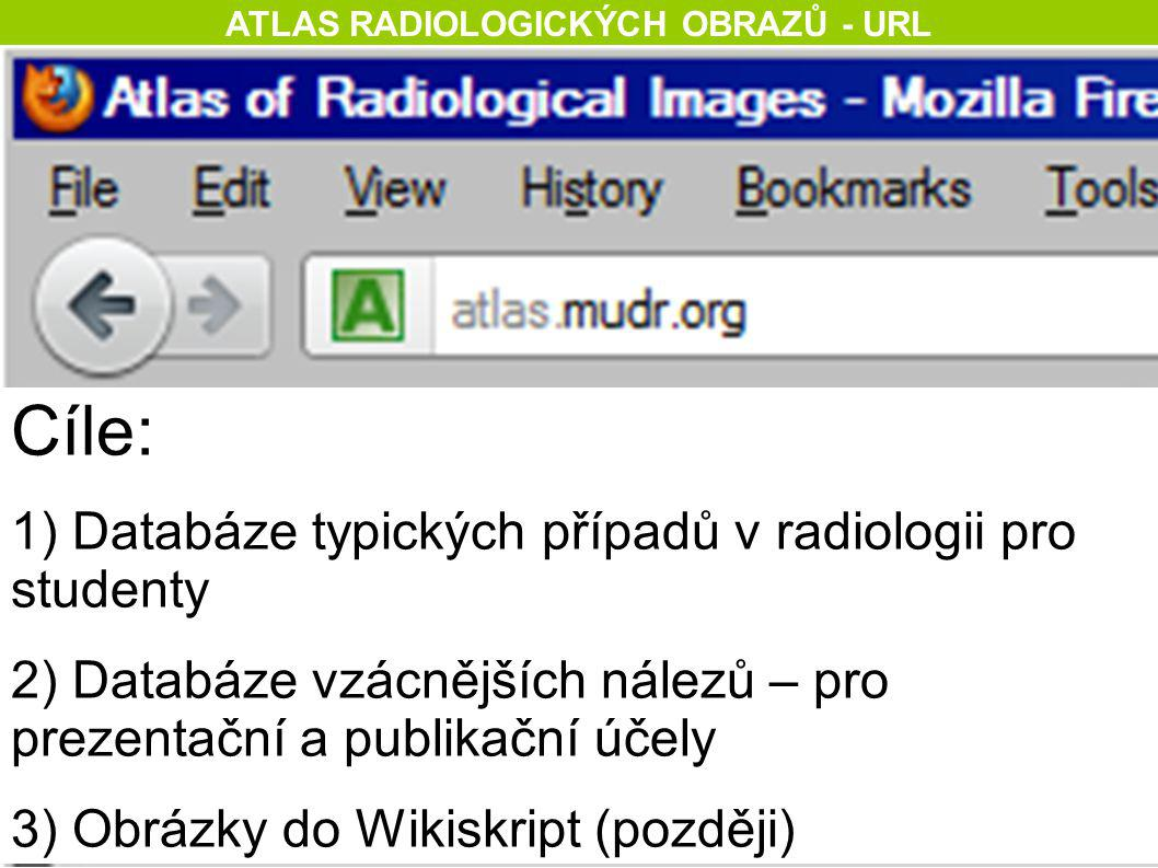 ATLAS RADIOLOGICKÝCH OBRAZŮ - URL