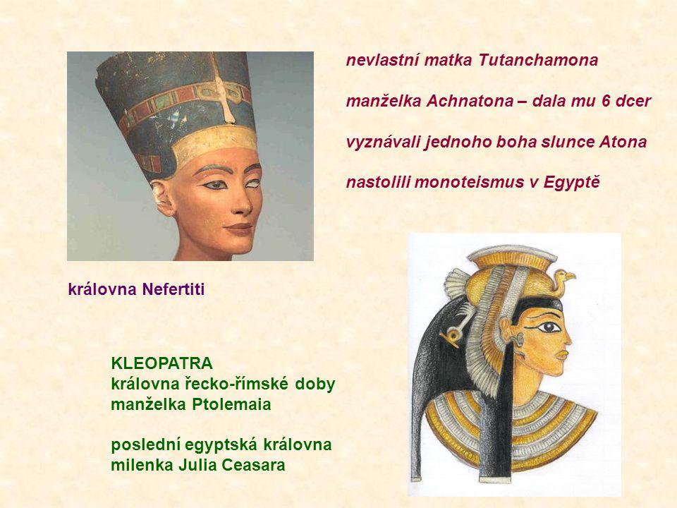 nevlastní matka Tutanchamona