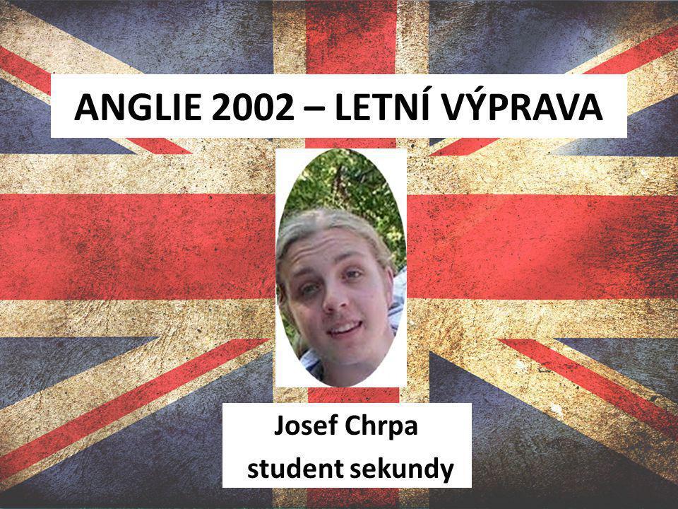 Josef Chrpa student sekundy