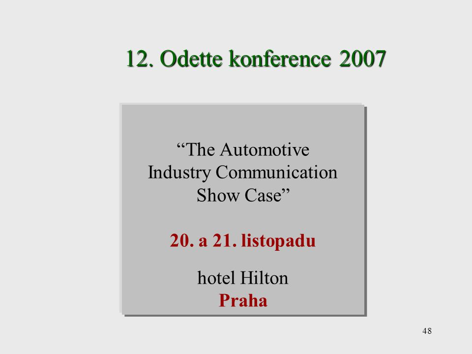 Industry Communication