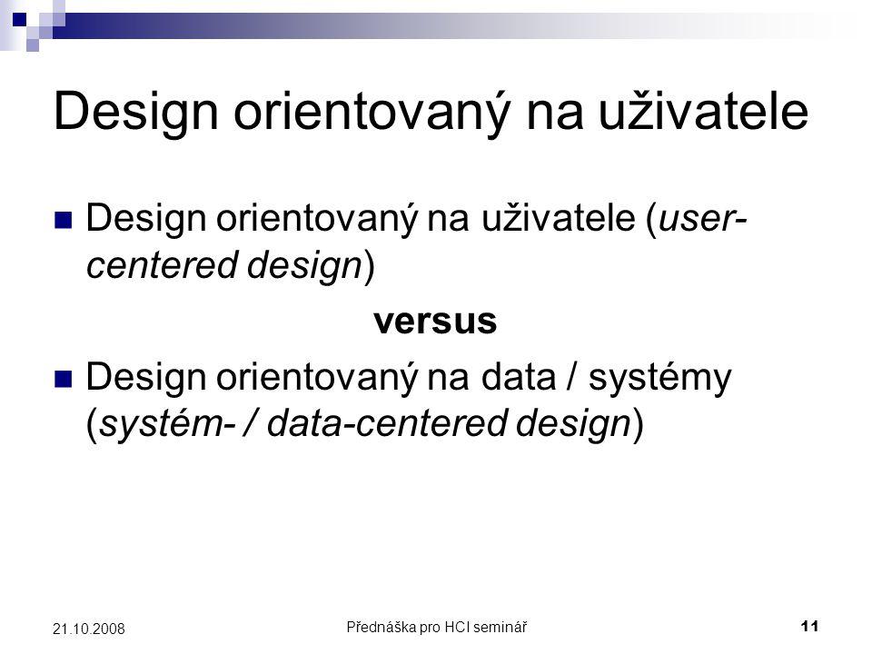 Design orientovaný na uživatele