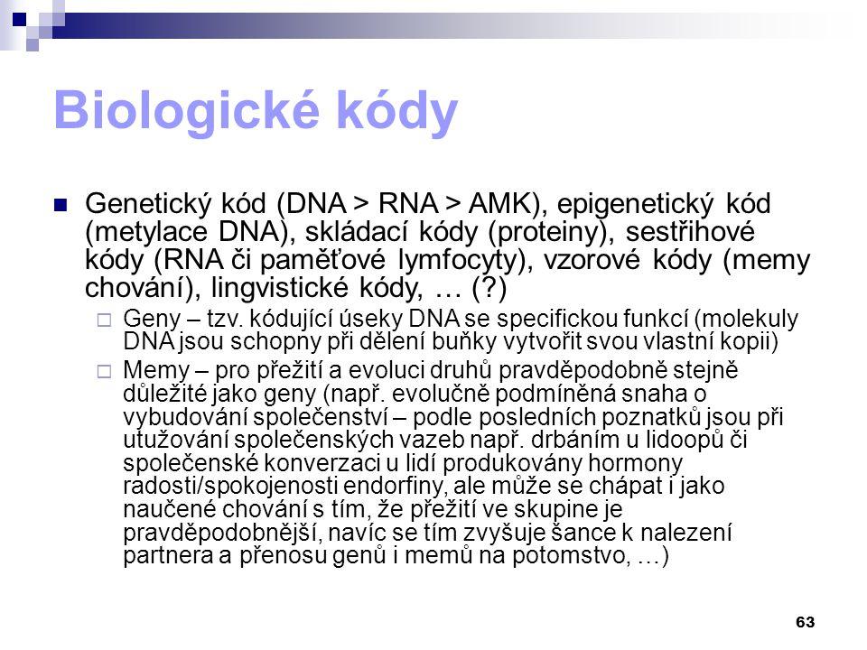 Biologické kódy