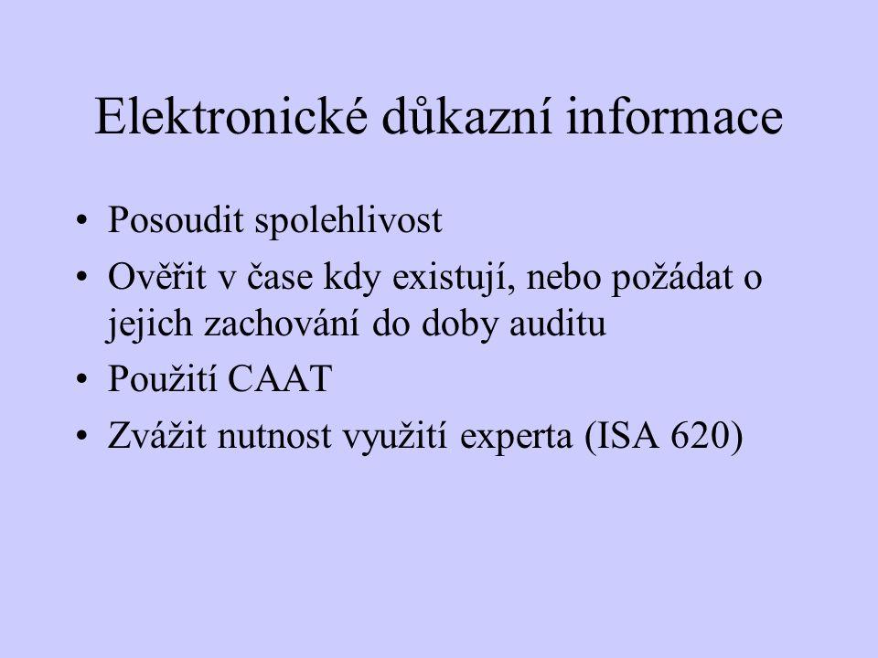 Elektronické důkazní informace