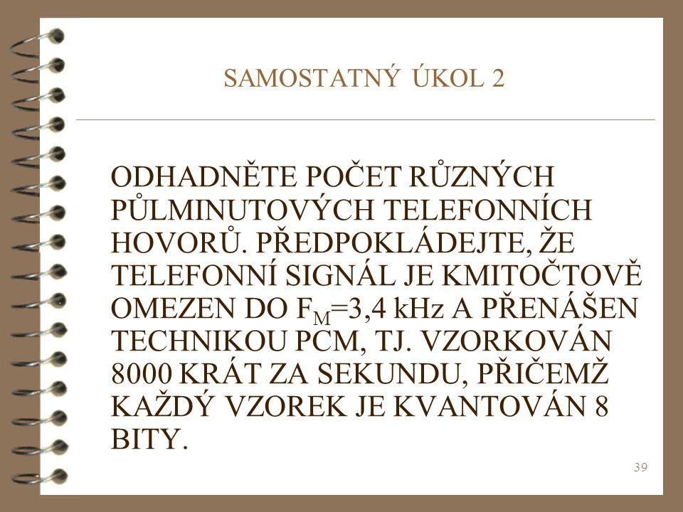 SAMOSTATNÝ ÚKOL 2