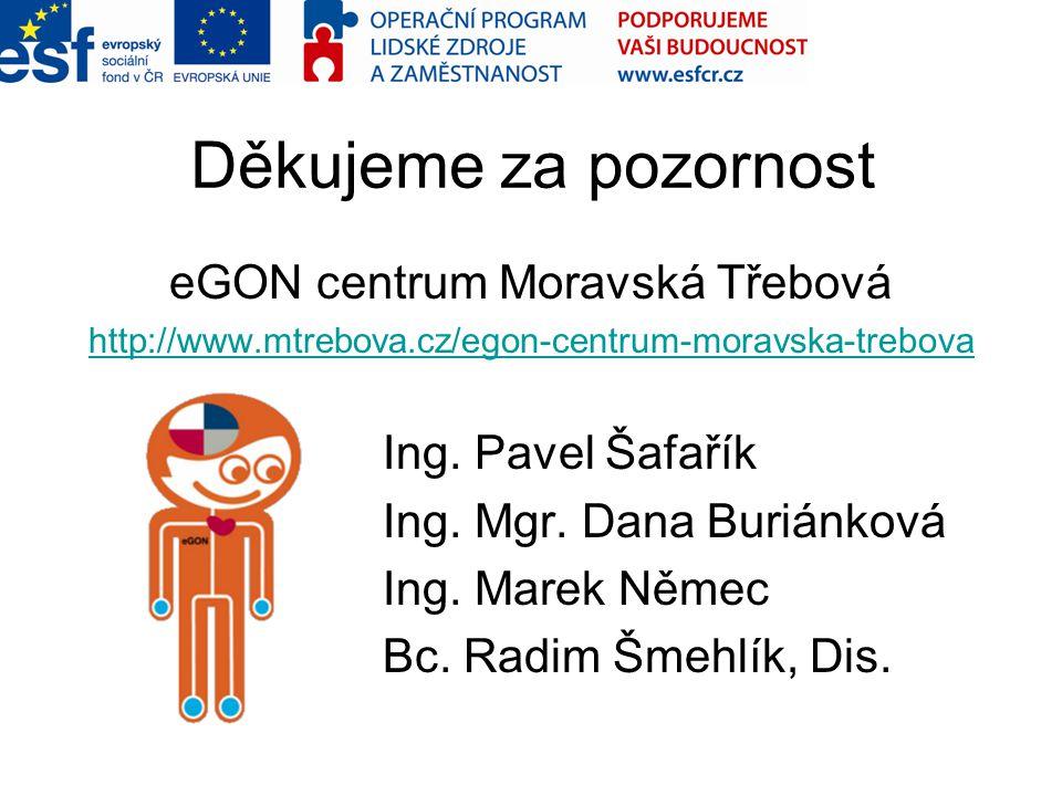 eGON centrum Moravská Třebová