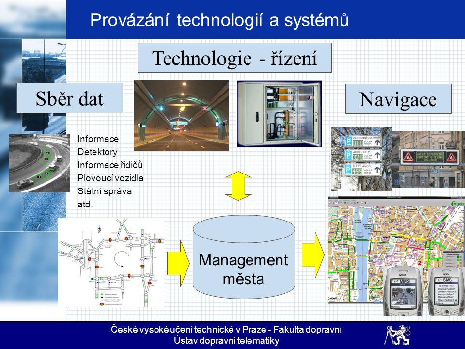 Provázání technologií a systémů