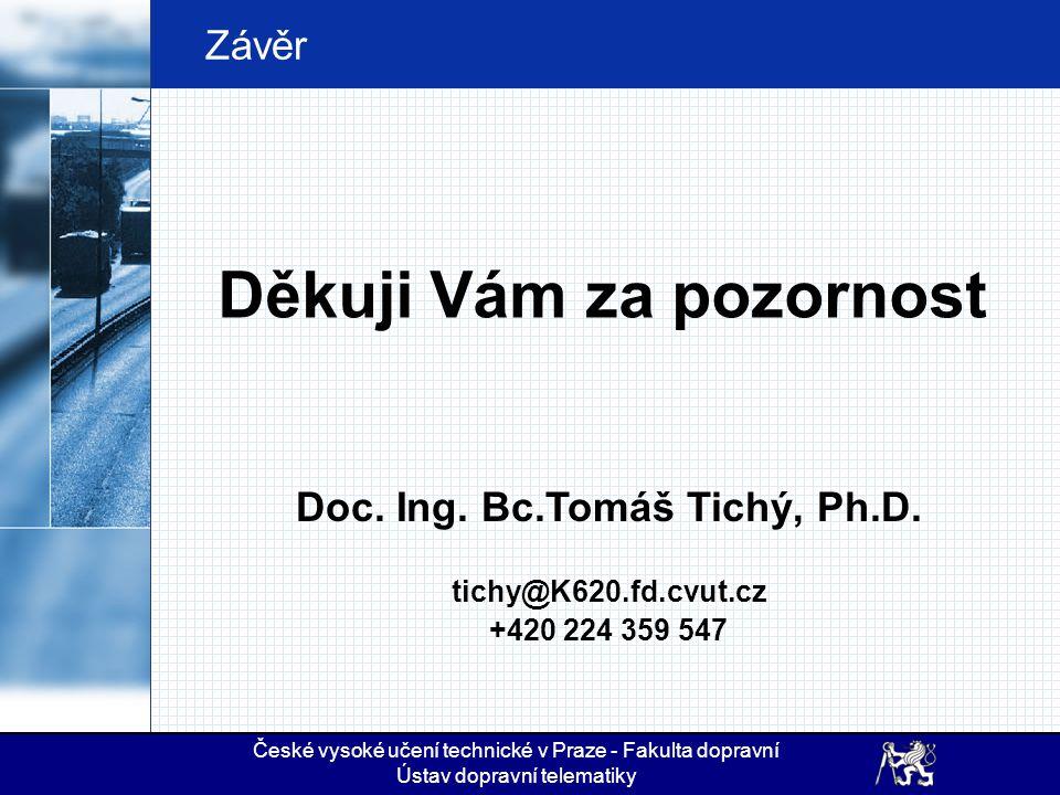 Doc. Ing. Bc.Tomáš Tichý, Ph.D.