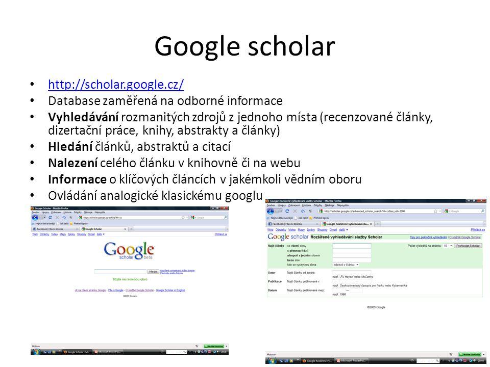 Google scholar http://scholar.google.cz/