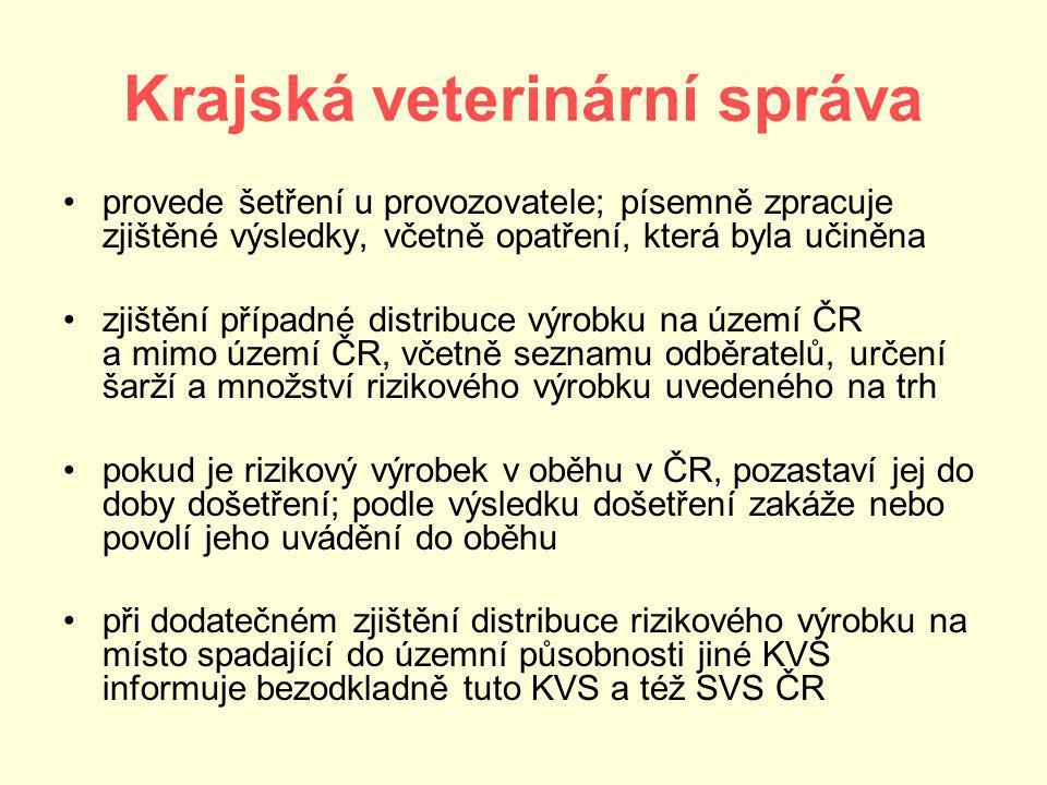 Krajská veterinární správa