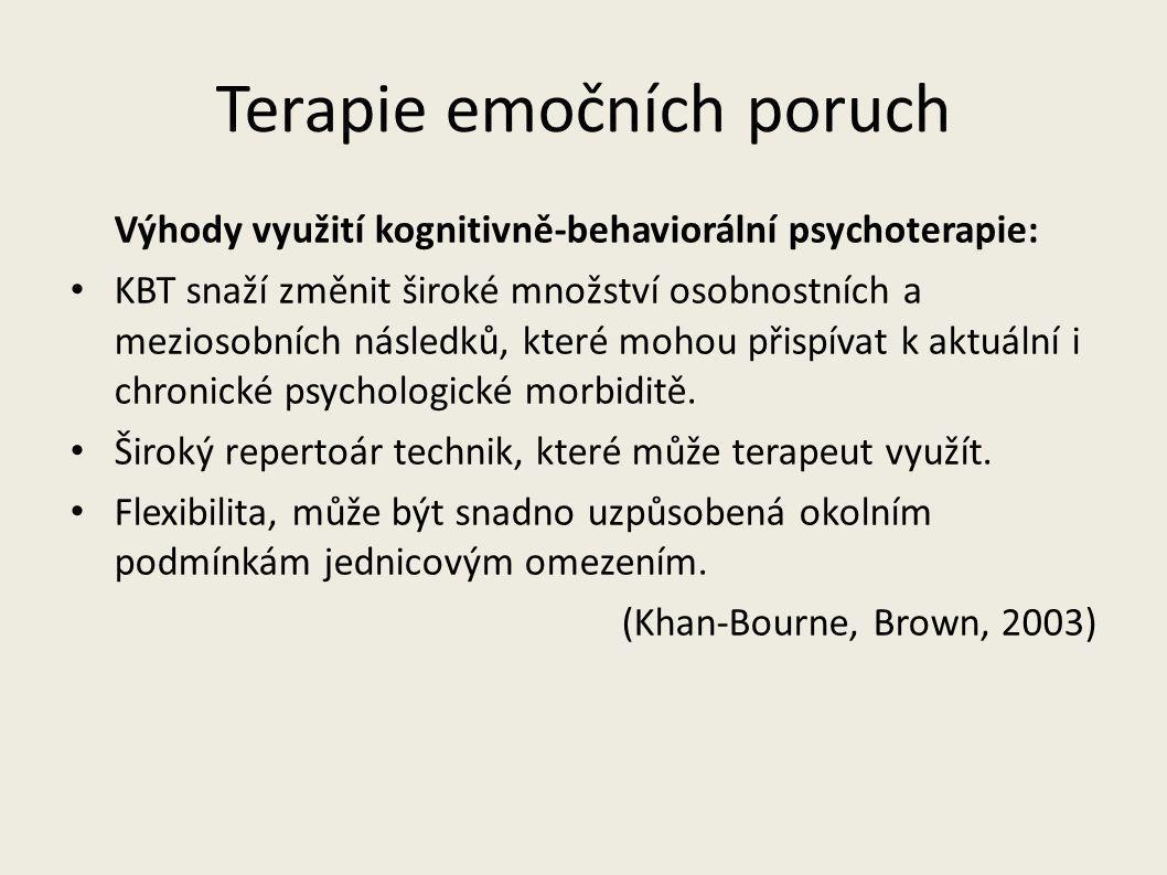 Terapie emočních poruch