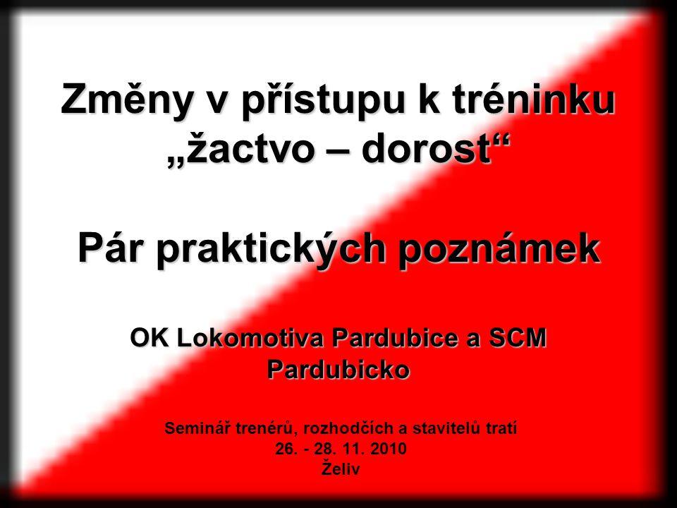 Seminář trenérů, rozhodčích a stavitelů tratí 26. - 28. 11. 2010 Želiv