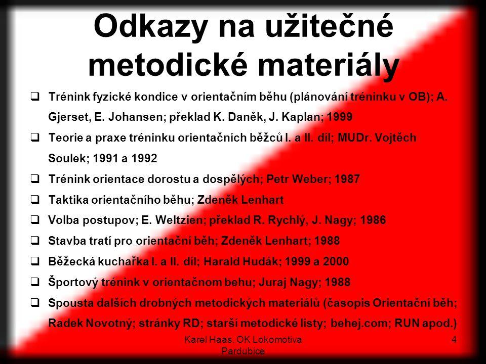 Odkazy na užitečné metodické materiály