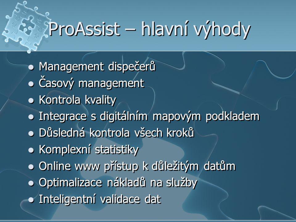 ProAssist – hlavní výhody