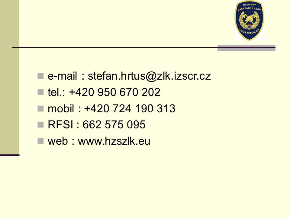 e-mail : stefan.hrtus@zlk.izscr.cz