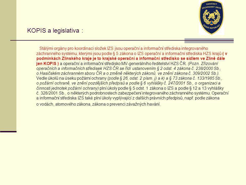 KOPIS a legislativa :