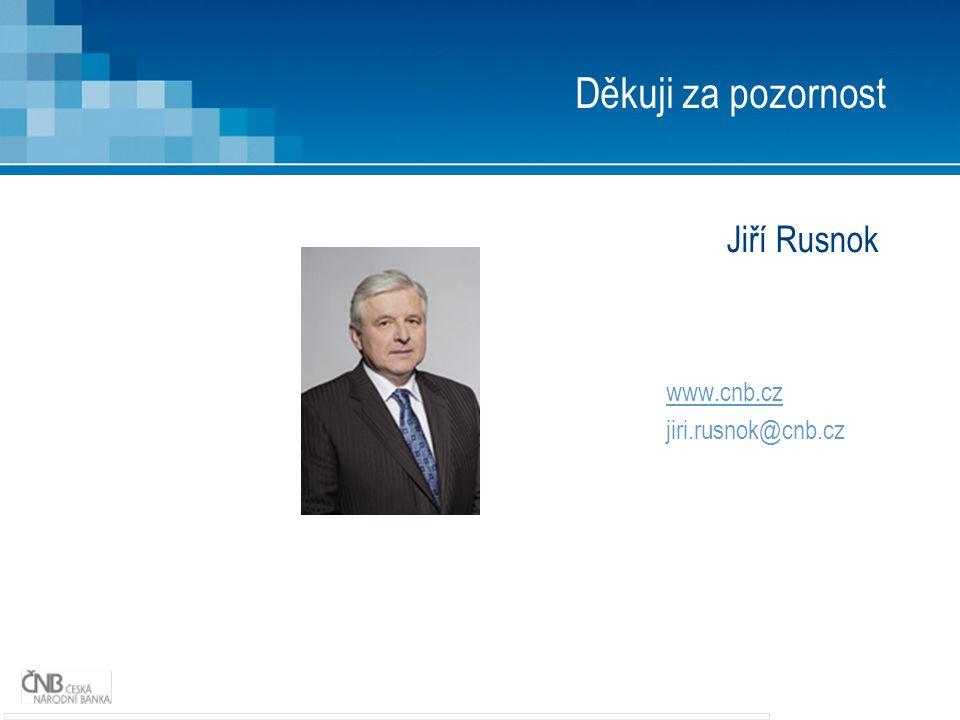 Jiří Rusnok www.cnb.cz jiri.rusnok@cnb.cz