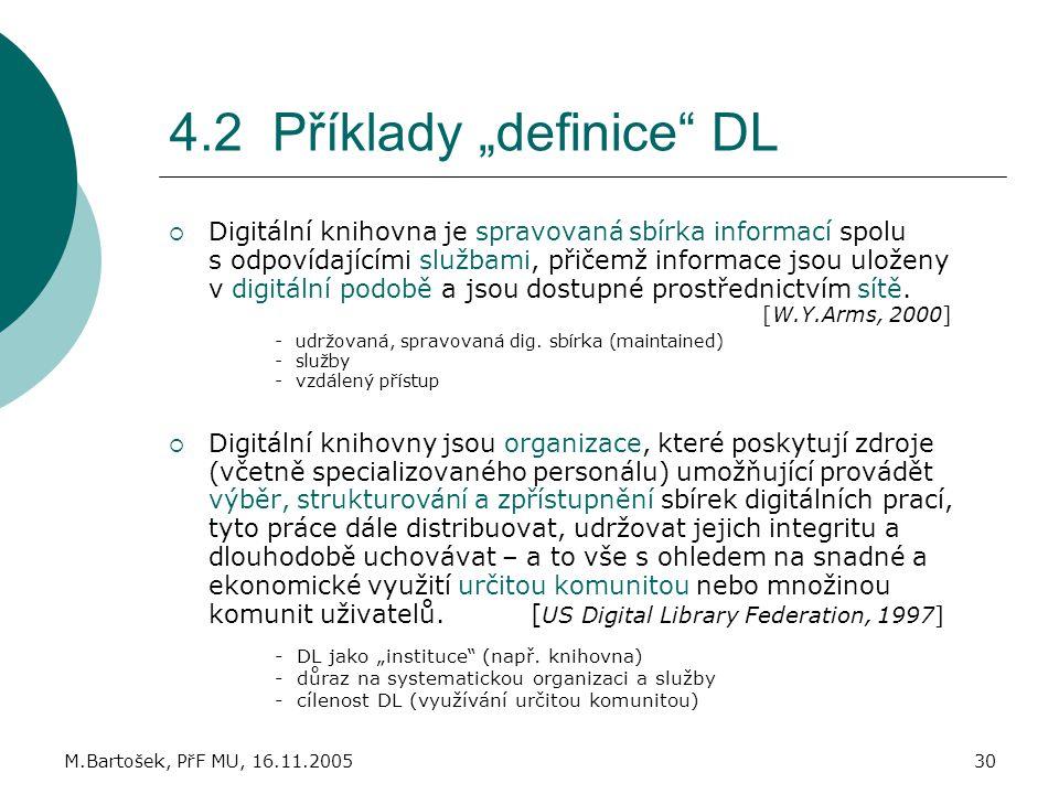 """4.2 Příklady """"definice DL"""