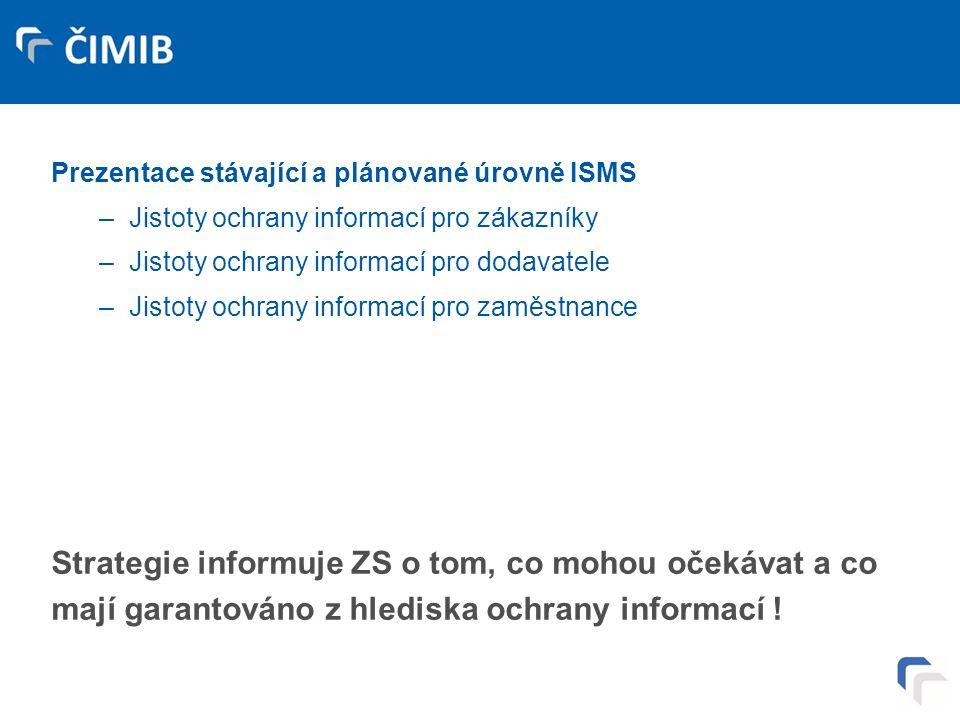 Deklarace úrovně informační bezpečnosti – veřejně prezentované strategie ISMS – 6.