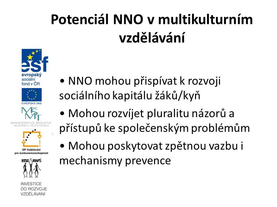 Potenciál NNO v multikulturním vzdělávání