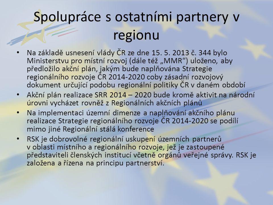 Spolupráce s ostatními partnery v regionu