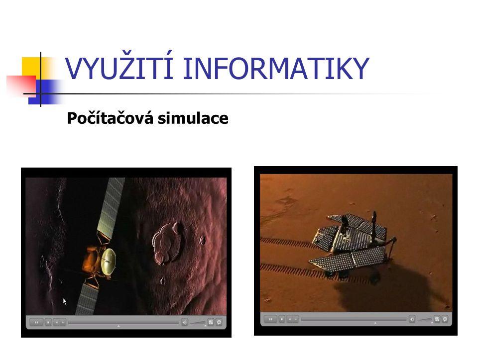 VYUŽITÍ INFORMATIKY Počítačová simulace