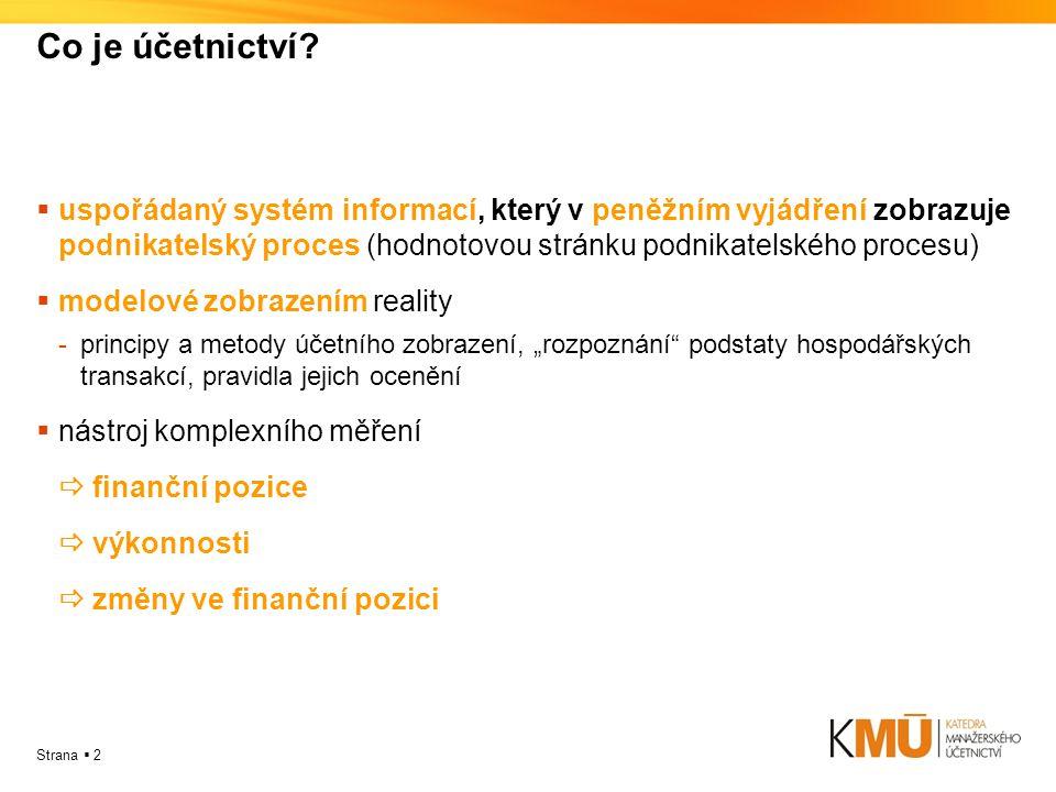 Co je účetnictví